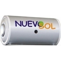 Nuevosol 120lt μπόιλερ ηλιάκου glass διπλής ενέργειας
