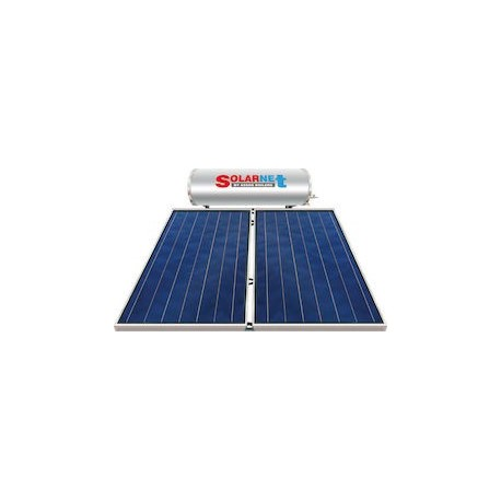 Assos Solarnet SOL 300/4m² Glass Hλιακός Θερμoσίφωνας Επιλεκτικός Διπλής Ενέργειας