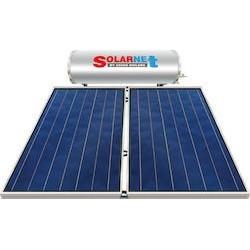 Assos Solarnet Ηλιακός SOL 200Ε (lt) glass με συλλεκτική επιφάνεια 4m² τριπλής ενεργείας (12 Άτοκες Δόσεις)