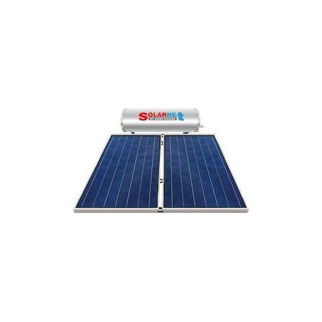 Assos Solarnet SOL 200E/4m² Glass Hλιακός Θερμoσίφωνας Επιλεκτικός Τριπλής Ενέργειας