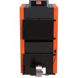 Χαλύβδινος λέβητας στερεών καυσίμων ξύλου Heatmax - Eco-Burn 35F