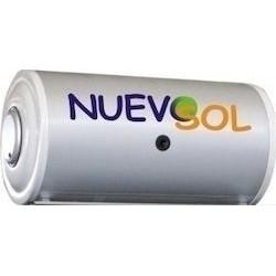 Μπόϊλερ ηλιακού θερμοσίφωνα 150lt Glass τριπλής ενέργειας by Nuevosol BLGQS 150