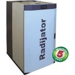 Λέβητας pellet Radijator – Ecoflame Plus 25 kW  (12 άτοκες δόσεις)