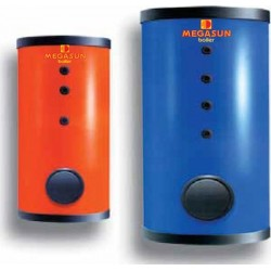 Helioakmi Megasun BL1 1000lt Boiler Λεβητοστασίου Εμαγιέ με έναν Εναλλάκτη(Σε 12 Άτοκες Δόσεις)