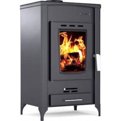 Thermiki ats 90-20 θερμάστρα ξύλου από ατσάλι 16 kW