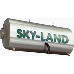 Μπόιλερ ηλιακών Inox Skyland BLGLC τριπλής ενέργειας 170Lt