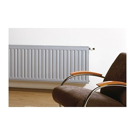 RADSON Integra 33/600/450 1448Kcal Θερμαντικό Σώμα Πάνελ (Panel) Εσωτερικού Βρόγχου Ventil Λευκό Βελγίου