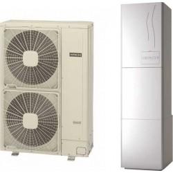 HITACHI Yutaki-S80 RWH-4.0(V)NFE / RAS-4.0WHVNPE Αντλία θερμότητας split Μονοφασική 80°C 11 KW (12 Άτοκες Δόσεις)