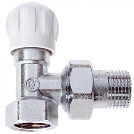 Brass Form διακόπτες δισωλήνιου κυκλόματος απλός Smart Form με σπείρωμα ½ γωνιακός 1603