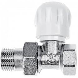 Brass Form διακόπτες δισωλήνιου κυκλόματος απλός Smart Form με σπείρωμα ½ ίσιος 1605
