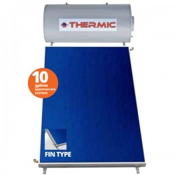 Thermic CT IN 120 lt inox διπλής με επιλεκτικό συλλέκτη 2,00m² ταράτσας