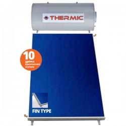Thermic CT IN 200 lt inox διπλής με επιλεκτικό συλλέκτη 2,50m² ταράτσας