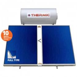 Thermic CT IN 300 lt inox τριπλής με 2 επιλεκτικoύς συλλέκτες 4,00m² ταράτσας
