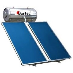 BARTEC Ηλιακός Θερμοσίφωνας Διπλής Ενέργειας 160lt glass με συλλεκτική επιφάνεια 3m²  (12 Άτοκες Δόσεις)