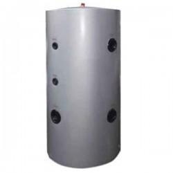 Cosmosolar δοχείο αδρανείας για αντλία θερμότητας με δύο εναλλάκτες COS-300-2P κάθετο δαπέδου  (290 lt)