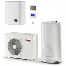 Ariston Nimbus Flex 110 M T Net 16,7Kw Αντλία θερμότητας 55 °C Τριφασική με ZNX 300lt (12 Άτοκες Δόσεις)