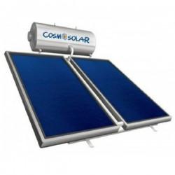 Cosmosolar Ηλιακός CS-300 IS (300lt) inox με 4.00 m² διπλής ενεργείας (12 Άτοκες Δόσεις)