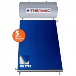 Thermic CT GL 150 lt glass διπλής με 1 επίλεκτικo συλλέκτη 2,00m² ταράτσας