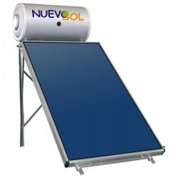 Nuevosol Ηλιακός NS-120/1.95 ΚΑΘ (120 lt) glass με 1.95 m² διπλής ενεργείας (12 Άτοκες Δόσεις)