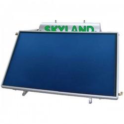 Skyland Ηλιακός χαμηλού προφίλ INB 150/2.30 ΟΡΙΖ (150 lt) inox με 2.30 m² διπλής ενεργείας (12 Άτοκες Δόσεις)