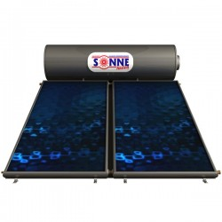 Sonne Ηλιακός Atlas T 300 glass 3.80 m² τριπλής ενεργείας (12 Άτοκες Δόσεις)