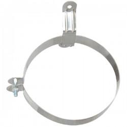 Technometal στήριγμα απλό καμινάδας με πάχος υλίκου 1.50 mm Φ 160
