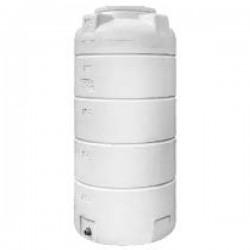 Stamatiou Plastics λευκή δεξαμενή κάθετη στενή 500 lt.