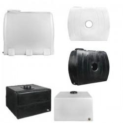 Stamatiou Plastics Μαύρη δεξαμενή παραλληλεπίπεδη (τετράγωνη) 1000 lt.