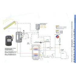 Cosmosolar SK-1000 20,50 1000Lt ηλιακό βεβιασμένης glass 10 Χ 2,05 τμ επιλεκτικός 2 εναλλάκτες για Α/Θ (12 Άτοκες Δόσεις)