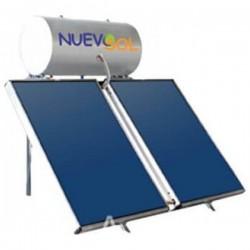 Nuevosol Ηλιακός NS-200/3.00 ΚΑΘ (200 lt) glass με 3.00 m² τριπλής ενεργείας (12 Άτοκες Δόσεις)