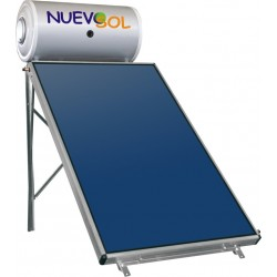 Glass NuevoSol - NS160/2.52m² Διπλής Ενέργειας με δύο συλλέκτες (Σε 12 Άτοκες Δόσεις)
