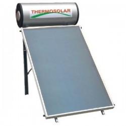 Thermosolar Ηλιακός 150 lt glass 2 m² διπλής ενεργείας (12 Άτοκες Δόσεις)