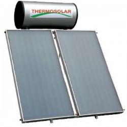 Thermosolar Ηλιακός 300 lt glass 2.5 m² διπλής ενεργείας (12 Άτοκες Δόσεις)