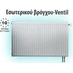 Splendid Θερμαντικό Σώμα Panel 33/600/1200 (3286kcal/h) Εσωτερικού Βρόγχου - Ventil