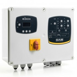 DΑΒ E.BOX PLUS D 400/50-60 HZ Ηλεκτρικός Πίνακας Τριφασικός 5.5 KWX2