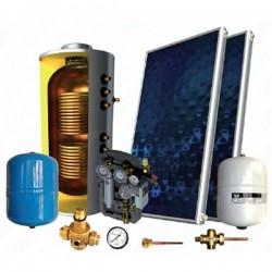 Sonne Βεβιασμένης κυκλοφορίας χάλκινο Τ 200lt/3.80m² Atlas τριπλής ενεργείας για Αντλία θερμότητας