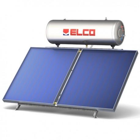 ELCO Ηλιακός EL-300 SOL-TECH S2/4.0 (300lt) glass με 4.0 m² διπλής ενεργείας (12 Άτοκες Δόσεις)