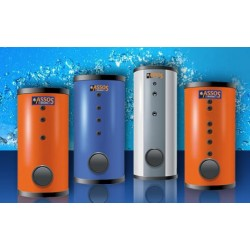 Assos BL2 2500 L Boiler Λεβητοστασίου Με 2 Εναλλακτες