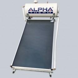 Alpha Therm Ηλιακός SAEC-160/2.00 glass με συλλεκτική επιφάνεια 2.00 m² Διπλής ενεργείας