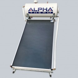 Alpha Therm Ηλιακός SAEC-200/2.50 glass με συλλεκτική επιφάνεια 2.50 m² Τριπλής ενεργείας