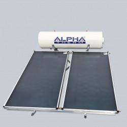 Alpha Therm Ηλιακός SAEC-200/3.00 glass με συλλεκτική επιφάνεια 3.00 m² Διπλής ενεργείας