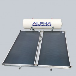 Alpha Therm Ηλιακός SAEC-200/3.00 glass με συλλεκτική επιφάνεια 3.00 m² Τριπλής ενεργείας
