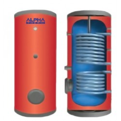 Alpha Therm BKLΑ/2-500 Boiler Λεβητοστασίου Με 2 Εναλλάκτες Για Αντλία Θερμότητας