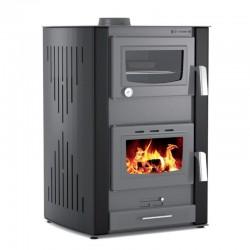 Thermiki ATS HYDRO MASINA 90-25 Υδραυλική Θερμάστρα Ξύλου με Φούρνο