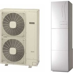 Hitachi Yutaki S80 RWH-6.0NFE/RAS-6WHNPE Αντλία θερμότητας split Τριφασική 80°C 16 KW(12 Άτοκες Δόσεις)