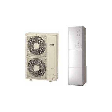 Hitachi Yutaki S80 RWH-6.0NFE/RAS-6WHNPE τριφασική αντλία θερμότητας 17,8kw