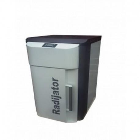 Ατομική μονάδα pellet BIOlux UNI 20 RADIJATOR 19,7Kw 16.942 Kcal/h