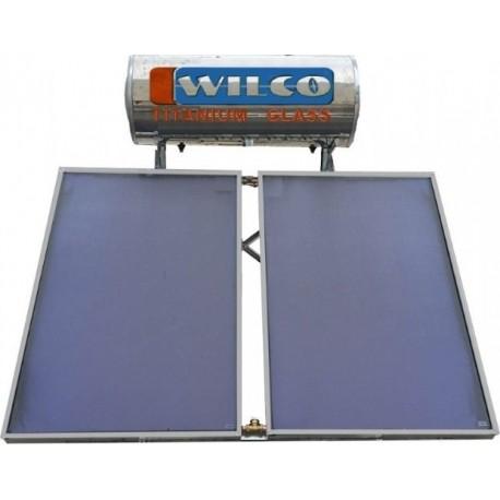 Ηλιακός WILCO 200 Lt Τριπλής Ενέργειας Με Επιλεκτικούς Συλλέκτες 4m²