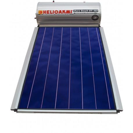 HELIOAKMI MEGASUN 160 L 2,62τμ GLASS Ηλιακός Διπλής Επιλεκτικός