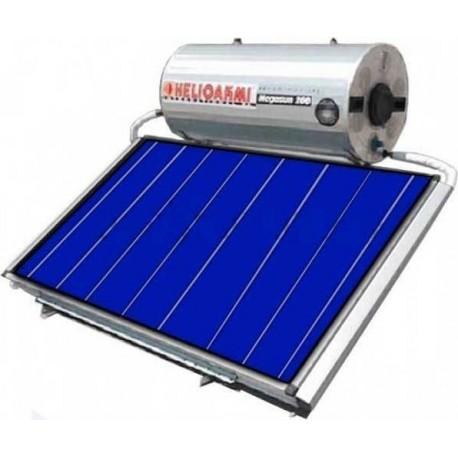 Helioakmi Megasun 160-HOR 2.62m² glass boiler Οριζόντιος Ηλιακός Διπλής επιλεκτικός